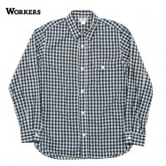 <img class='new_mark_img1' src='//img.shop-pro.jp/img/new/icons13.gif' style='border:none;display:inline;margin:0px;padding:0px;width:auto;' />WORKERS/ワーカーズ LT Work Shirt ワークシャツ Lt Gingham