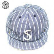 <img class='new_mark_img1' src='//img.shop-pro.jp/img/new/icons50.gif' style='border:none;display:inline;margin:0px;padding:0px;width:auto;' />DECHO/デコー BALL CAP STRIPE ボールキャップ ブルー