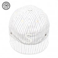 <img class='new_mark_img1' src='//img.shop-pro.jp/img/new/icons50.gif' style='border:none;display:inline;margin:0px;padding:0px;width:auto;' />DECHO/デコー BALL CAP STRIPE ボールキャップ ホワイト