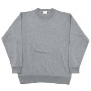 WORKERS/ワーカーズ FC Knit, Medium Weight, Crew Grey