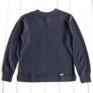 COLIMBO/コリンボ   SOUTH STREET GUERNSEY SWEATER ダークネイビー