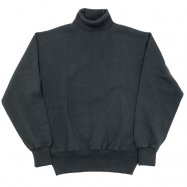 WORKERS/ワーカーズ FC Knit Heavy Weight Turtlenec ブラック