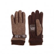 <img class='new_mark_img1' src='//img.shop-pro.jp/img/new/icons13.gif' style='border:none;display:inline;margin:0px;padding:0px;width:auto;' />COLIMBO/コリンボ ESCORIAL WOOL GLOVE ブラウン
