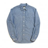 【先行予約】 COLIMBO/コリンボ WILLWBROOK L/S SHIRT BLUE CHAMBRAY