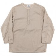 <img class='new_mark_img1' src='//img.shop-pro.jp/img/new/icons50.gif' style='border:none;display:inline;margin:0px;padding:0px;width:auto;' />WORKERS/ワーカーズ Sleeping Shirt, Ecru Twill