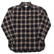 COLIMBO/コリンボ OLD WEDWORTH SHIRT BROWN TARTAN