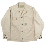 <img class='new_mark_img1' src='//img.shop-pro.jp/img/new/icons13.gif' style='border:none;display:inline;margin:0px;padding:0px;width:auto;' />WORKERS/ワーカーズ Engineer Jacket White Denim Sanforized
