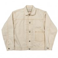 WORKERS/ワーカーズ Denim Jacket, 10.5 oz Right Hand White Denim, OW