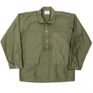 <img class='new_mark_img1' src='//img.shop-pro.jp/img/new/icons13.gif' style='border:none;display:inline;margin:0px;padding:0px;width:auto;' />WORKERS/ワーカーズ Pullover Shirt, Ref US ARMY, OD Reversed Sateen