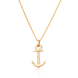 Necklace Anchor Spirit ゴールド