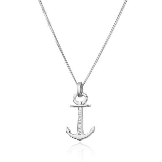 Necklace Anchor Spirit シルバー