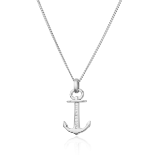 Necklace Anchor Spirit シルバー