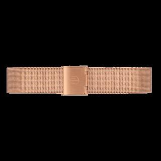 ベルト幅16�専用 ウォッチストラップ/ローズゴールドメッシュ