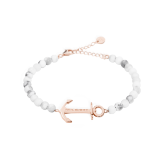 Bracelet Anchor Spirit Marble ローズゴールド