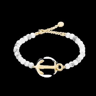 Bracelet Anchor Spirit Marble ゴールド