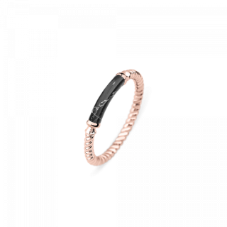 Ring Rope Starboard ローズゴールド/ブラックマーブル