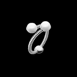 Ring Rope Pearl シルバー