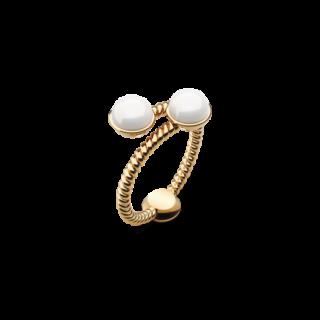 Ring Rope Pearl ゴールド