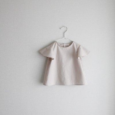 Flared sleeve blouse
