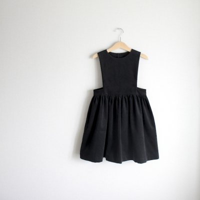 Corduroy apron dress