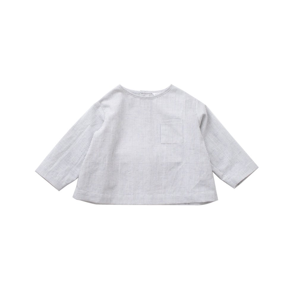 Graph check shirt