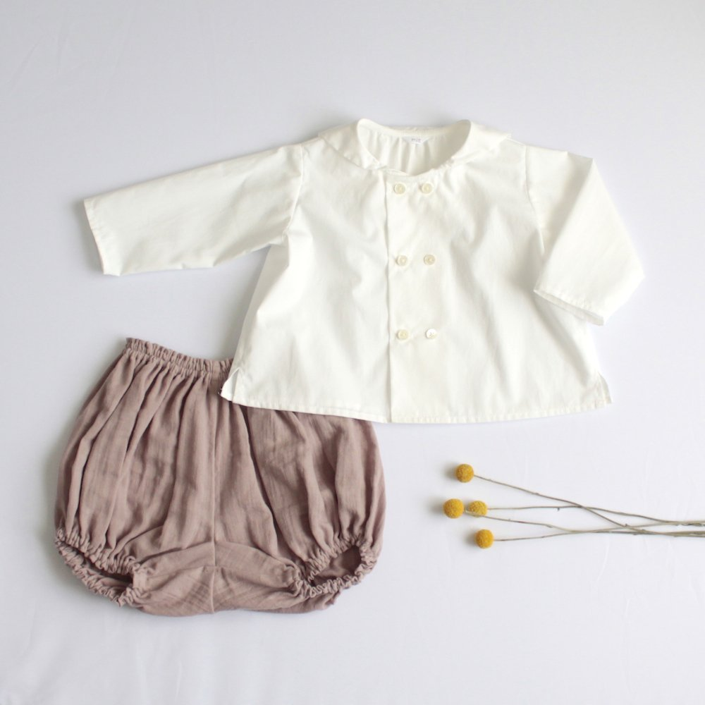 Sailor color shirt & bloomers