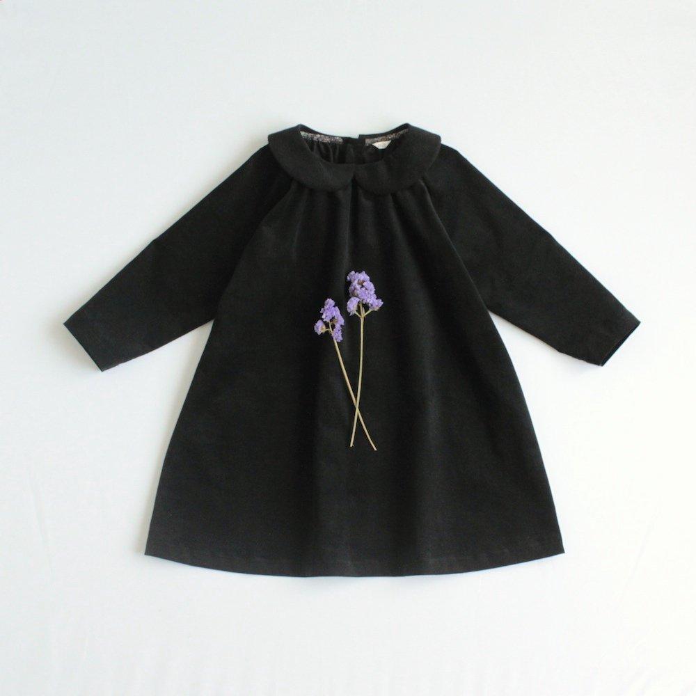 Round collar dress (Corduroy)