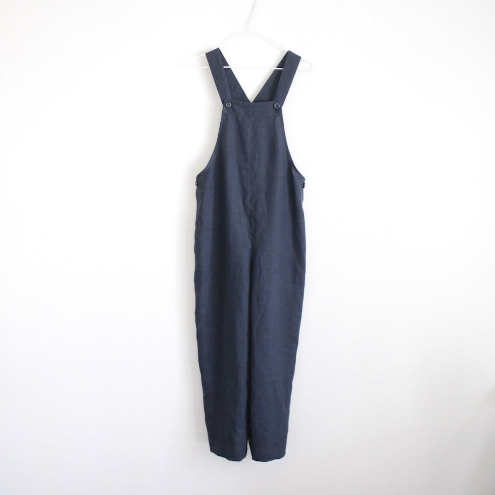 Linen daily overalls