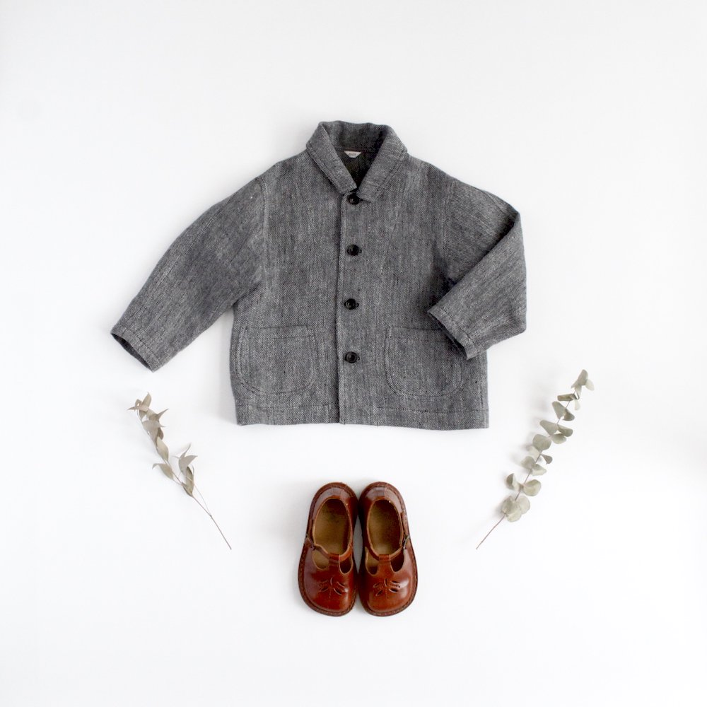 Linen twill jacket