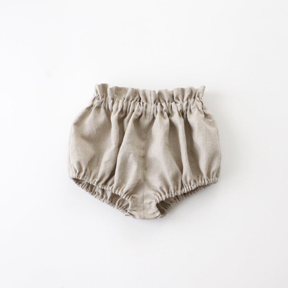 【オーダー品】Linen bloomers -beige-