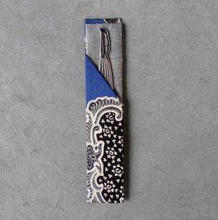 「Eddy An Batik 」×月日荘  手描きジャワ更紗 楊枝入れ [笹形楊枝付き]