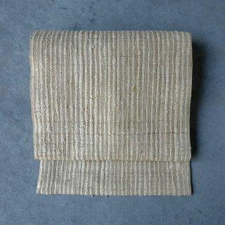 インド 野蚕布  名古屋帯(仕立て上がり)
