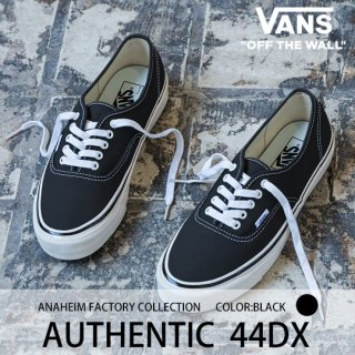 AUTHENTIC 44DX (Black)/VANS バンズ<img class='new_mark_img2' src='https://img.shop-pro.jp/img/new/icons14.gif' style='border:none;display:inline;margin:0px;padding:0px;width:auto;' />