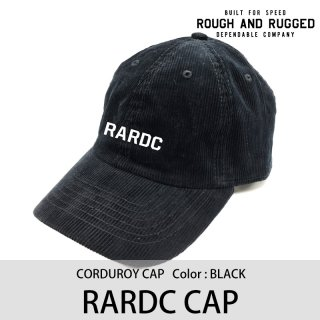 RARDC CAP/ROUGH AND RUGGED<img class='new_mark_img2' src='https://img.shop-pro.jp/img/new/icons8.gif' style='border:none;display:inline;margin:0px;padding:0px;width:auto;' />