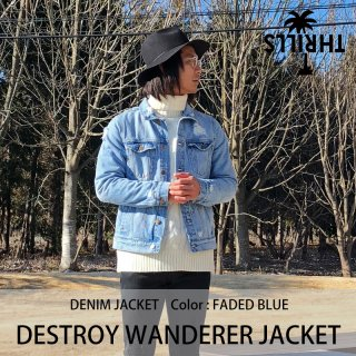 【50%OFF】DESTROY WANDERER JACKET/THRILLS<img class='new_mark_img2' src='https://img.shop-pro.jp/img/new/icons20.gif' style='border:none;display:inline;margin:0px;padding:0px;width:auto;' />