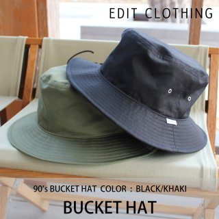 Bucket hat/EDIT CLOTHING<img class='new_mark_img2' src='https://img.shop-pro.jp/img/new/icons8.gif' style='border:none;display:inline;margin:0px;padding:0px;width:auto;' />