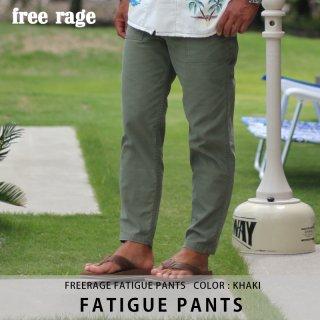 FATIGUE PANTS カーキ/FREE RAGE フリーレイジ