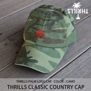 【30%OFF】CAMO COUNTRY CAP カモ/THRILLS スリルズ <img class='new_mark_img2' src='https://img.shop-pro.jp/img/new/icons20.gif' style='border:none;display:inline;margin:0px;padding:0px;width:auto;' />
