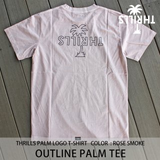【30%OFF】OUTLINE PALM TEE ローズスモーク/THRILLS スリルズ <img class='new_mark_img2' src='https://img.shop-pro.jp/img/new/icons20.gif' style='border:none;display:inline;margin:0px;padding:0px;width:auto;' />