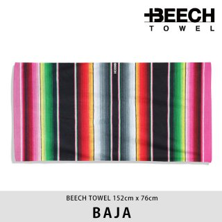 【20%OFF】BAJA/BEECH TOWEL ビーチタオル<img class='new_mark_img2' src='https://img.shop-pro.jp/img/new/icons20.gif' style='border:none;display:inline;margin:0px;padding:0px;width:auto;' />