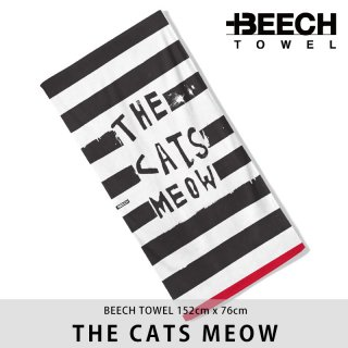 【20%OFF】THE CATS MEOW/BEECH TOWEL ビーチタオル<img class='new_mark_img2' src='https://img.shop-pro.jp/img/new/icons20.gif' style='border:none;display:inline;margin:0px;padding:0px;width:auto;' />