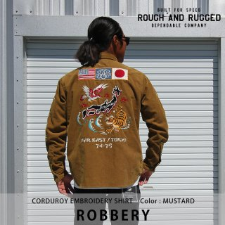 ROBBERY/ROUGH AND RUGGED<img class='new_mark_img2' src='https://img.shop-pro.jp/img/new/icons8.gif' style='border:none;display:inline;margin:0px;padding:0px;width:auto;' />