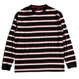 ALL OUT STRIPE LS TEE/GLOBE グローブ