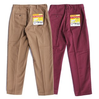 <img class='new_mark_img1' src='https://img.shop-pro.jp/img/new/icons13.gif' style='border:none;display:inline;margin:0px;padding:0px;width:auto;' />PIN TACK CHINO PANTS (COYOTE/BURGUNDY)/BIG MIKE ビッグマイク