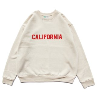 <img class='new_mark_img1' src='https://img.shop-pro.jp/img/new/icons59.gif' style='border:none;display:inline;margin:0px;padding:0px;width:auto;' />CALIFORNIA CREW NECK ホワイト/OFFSHORE オフショア