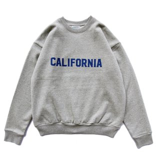 <img class='new_mark_img1' src='https://img.shop-pro.jp/img/new/icons59.gif' style='border:none;display:inline;margin:0px;padding:0px;width:auto;' />CALIFORNIA CREW NECK グレー/OFFSHORE オフショア
