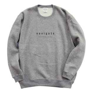 <img class='new_mark_img1' src='https://img.shop-pro.jp/img/new/icons13.gif' style='border:none;display:inline;margin:0px;padding:0px;width:auto;' />Official Crew Neck/navigate ナビゲート