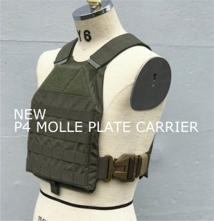 NEW P4 MOLLE PLATE CARRIER