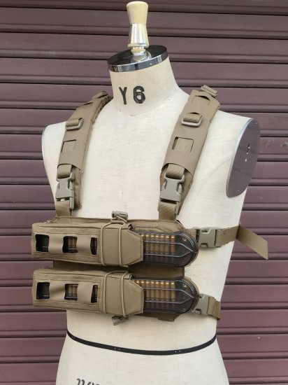 P90 CHEST RIG with GRID CUT HARNESS - studio-an3