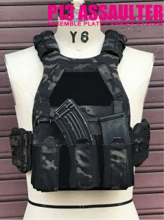 <img class='new_mark_img1' src='//img.shop-pro.jp/img/new/icons5.gif' style='border:none;display:inline;margin:0px;padding:0px;width:auto;' />P13 PLATE CARRIER ASSAULTER SETTING